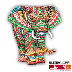 Tapiz Elefante Africano