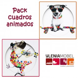Pack cuadros animados