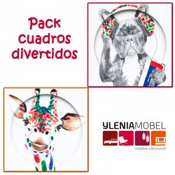 Pack cuadros divertidos