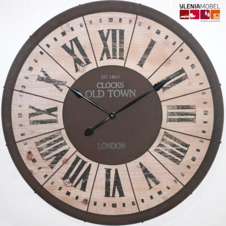 Reloj Pared Old Town London