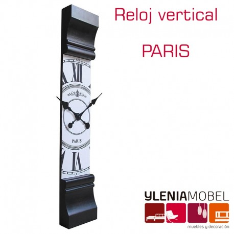 Reloj Vertical PARIS
